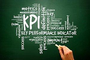 KPI в общей массе данных